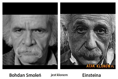 Bohdan Smole? i Einsteina –