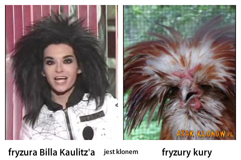 Fryzura Billa Kaulitz'a i... –