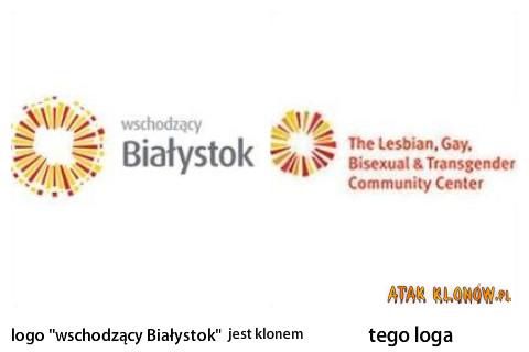 """Logo """"wschodzący Białystok"""" i... –"""