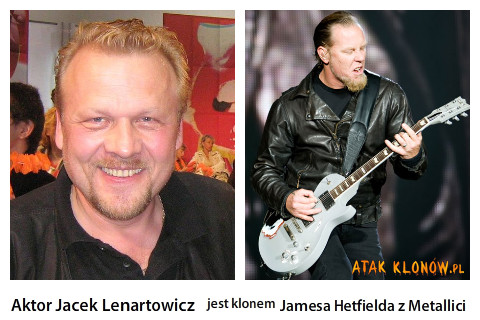 Aktor Jacek Lenartowicz i... –