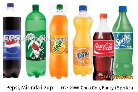 Pepsi, Mirinda i 7up i... –