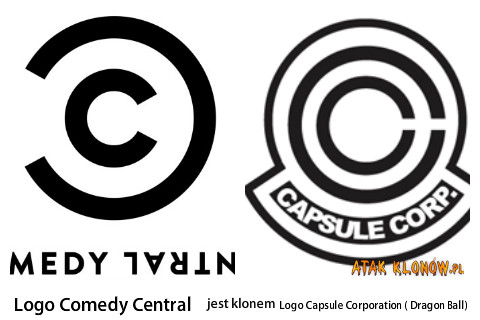 Logo Comedy Central i... – Logo Comedy Central Logo Capsule Corporation ( Dragon Ball)