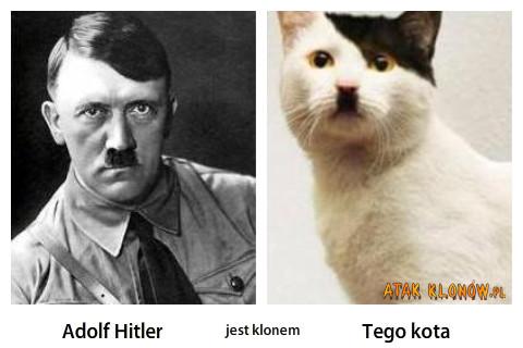 Adolf Hitler i... – Adolf Hitrel tego kota