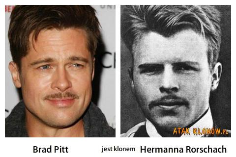 Brad Pitt i... – Brad Pitt Hermann Rorschach