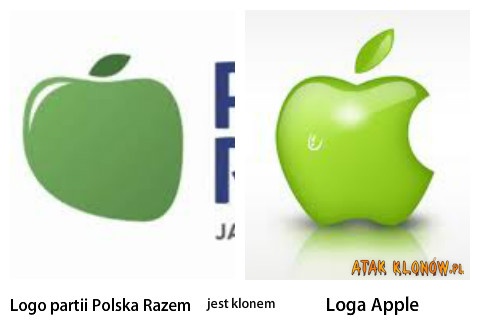 Logo partii Polska Razem i... –