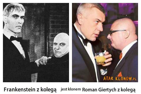 Frankenstein z kolegą i... –