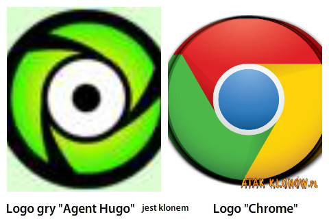 "Logo gry ""Agent Hugo"" i... –"